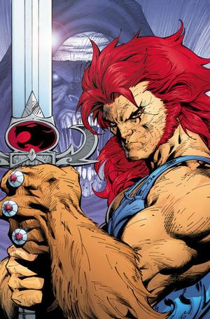 Liono Sword on Am Lion O Leader Of The Thundercats